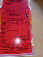 Pure hagelslag - Nutrition facts - nl