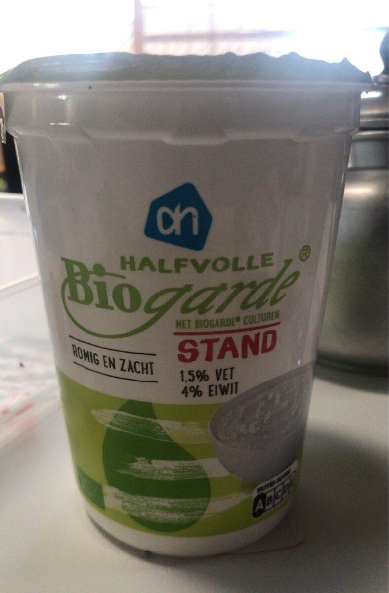 Halfvolle biogarde - Produit - fr