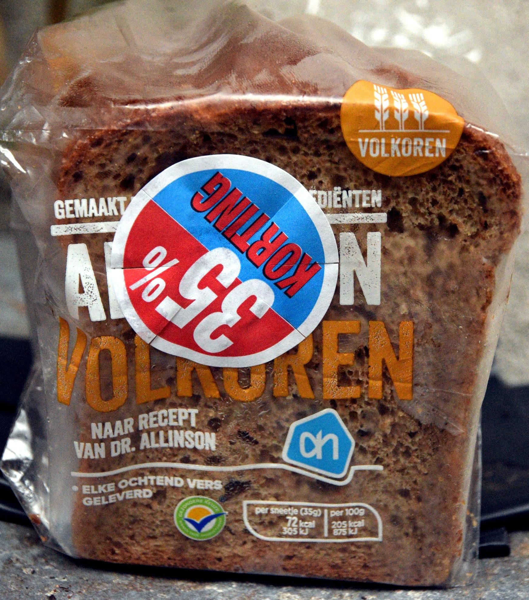 Allinson volkoren - Product