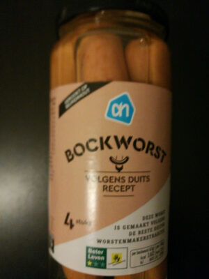 Bockworst - Product - nl