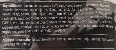 Bapao (Rund) - Ingredients - nl