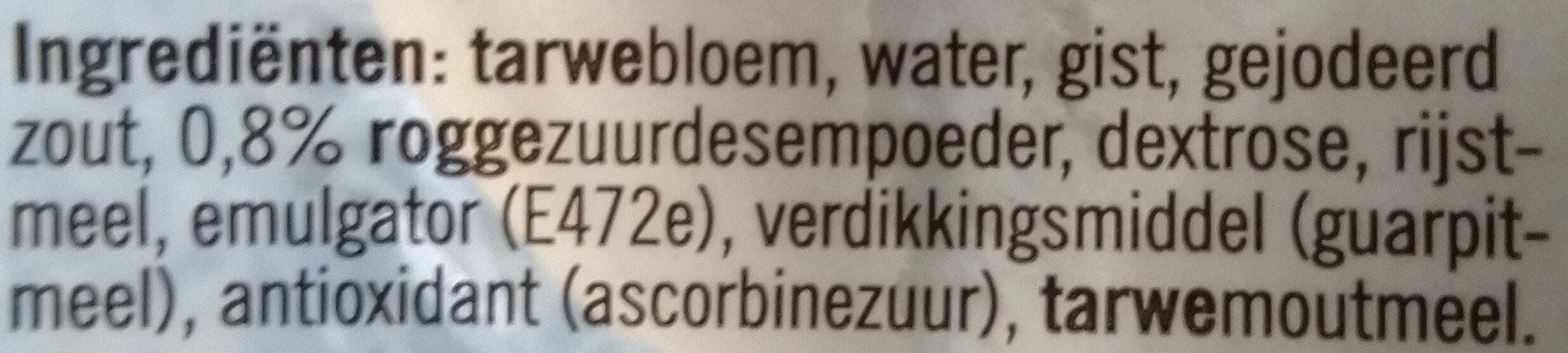 Kaiserbroodjes - Ingrediënten - nl