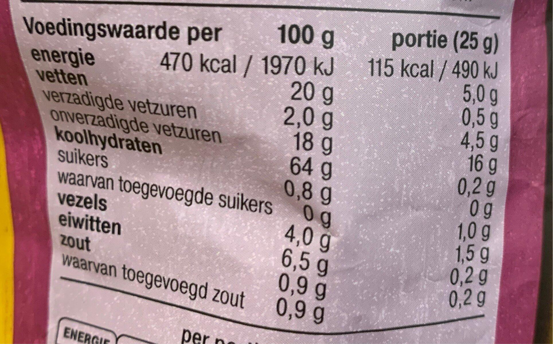 Tortilla Chips Original - Nutrition facts - nl