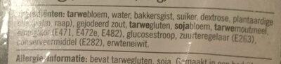 Beschuitbollen - Ingrediënten - nl