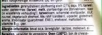 Vegetarisch krokante cheeseburger - Ingredients - nl