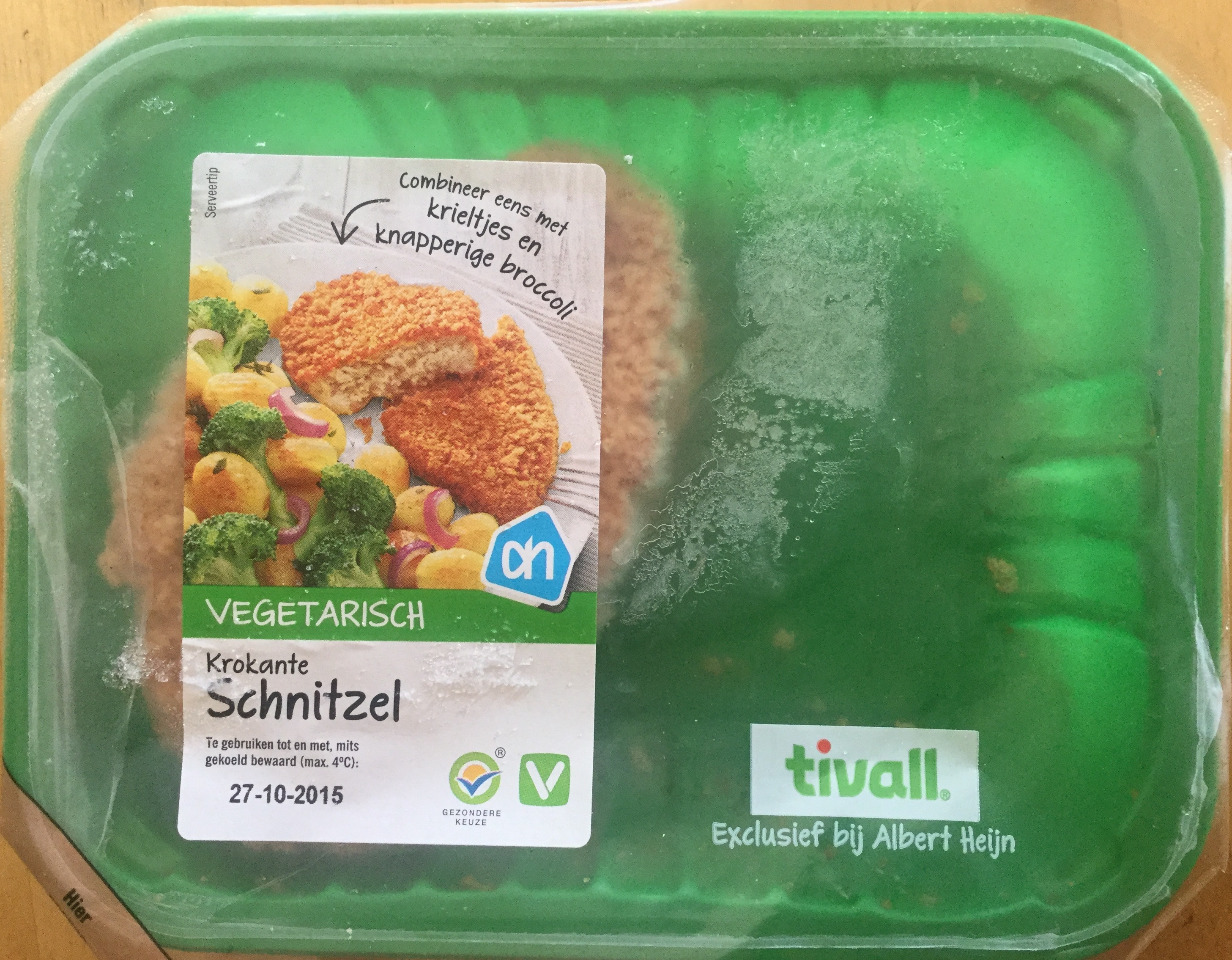 Krokante schnitzel - Product - nl