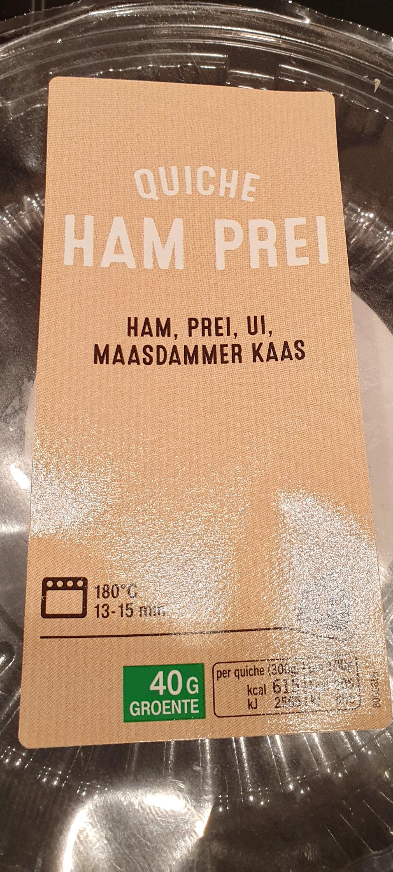 Quiche Ham Prei - Product - nl