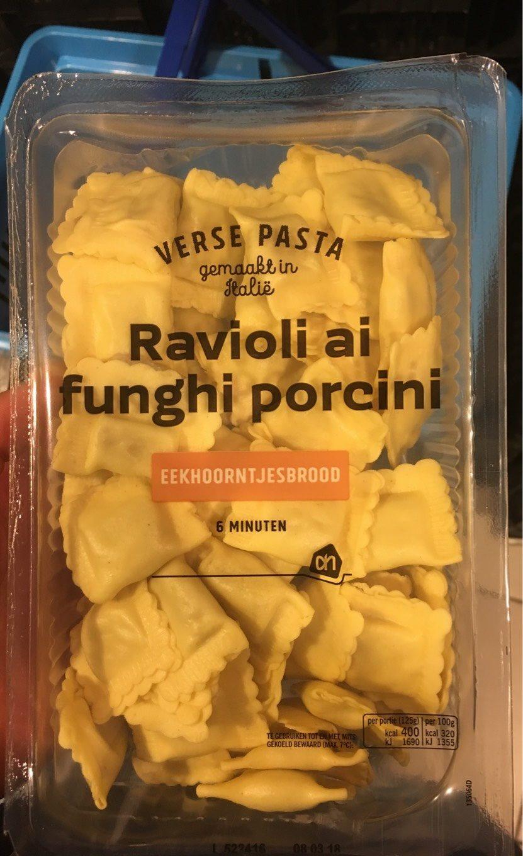 Ravioli ai funghi porcini - Product
