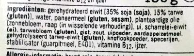 Krokante nuggets vegetarisch - Ingrediënten