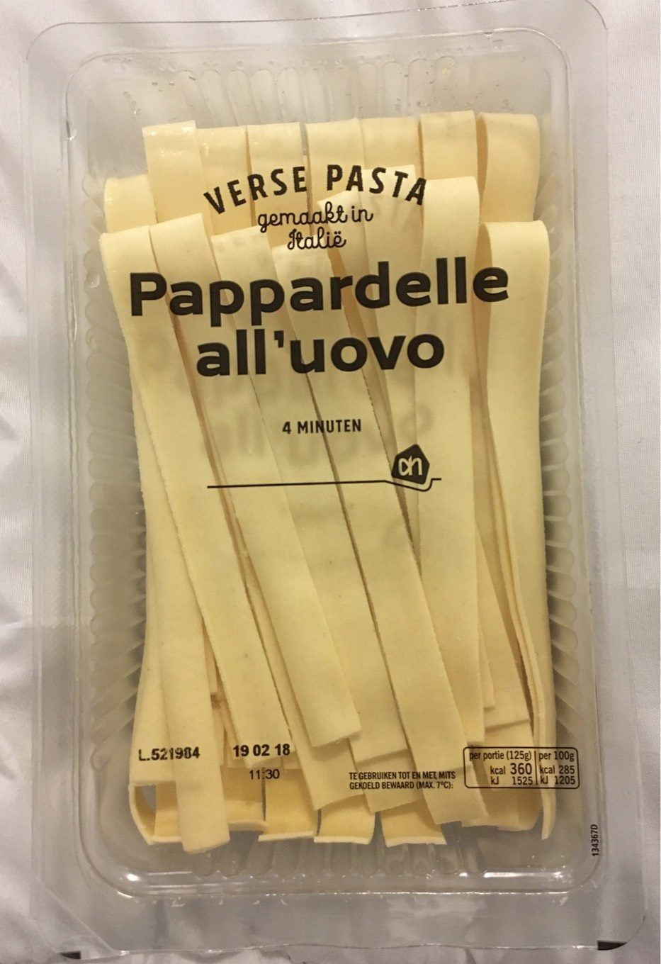 pappardelle pescatore nutrition facts eat this much - HD 933×1360