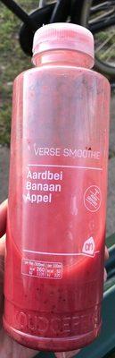 Smoothie Aardbei Banaan Fles 500 ml Koeling - Product