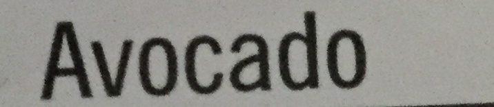 Avocado - Ingredients - fr
