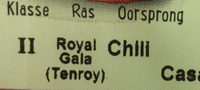 Biologische royal gala - Ingredients - nl