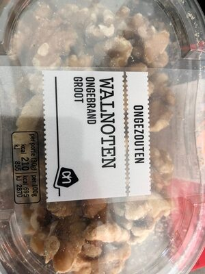 Walnoten Ongebrand Groot - Product
