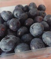 Blauwe bessen - Nutrition facts