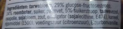 Stroopwafels - Ingrediënten - nl