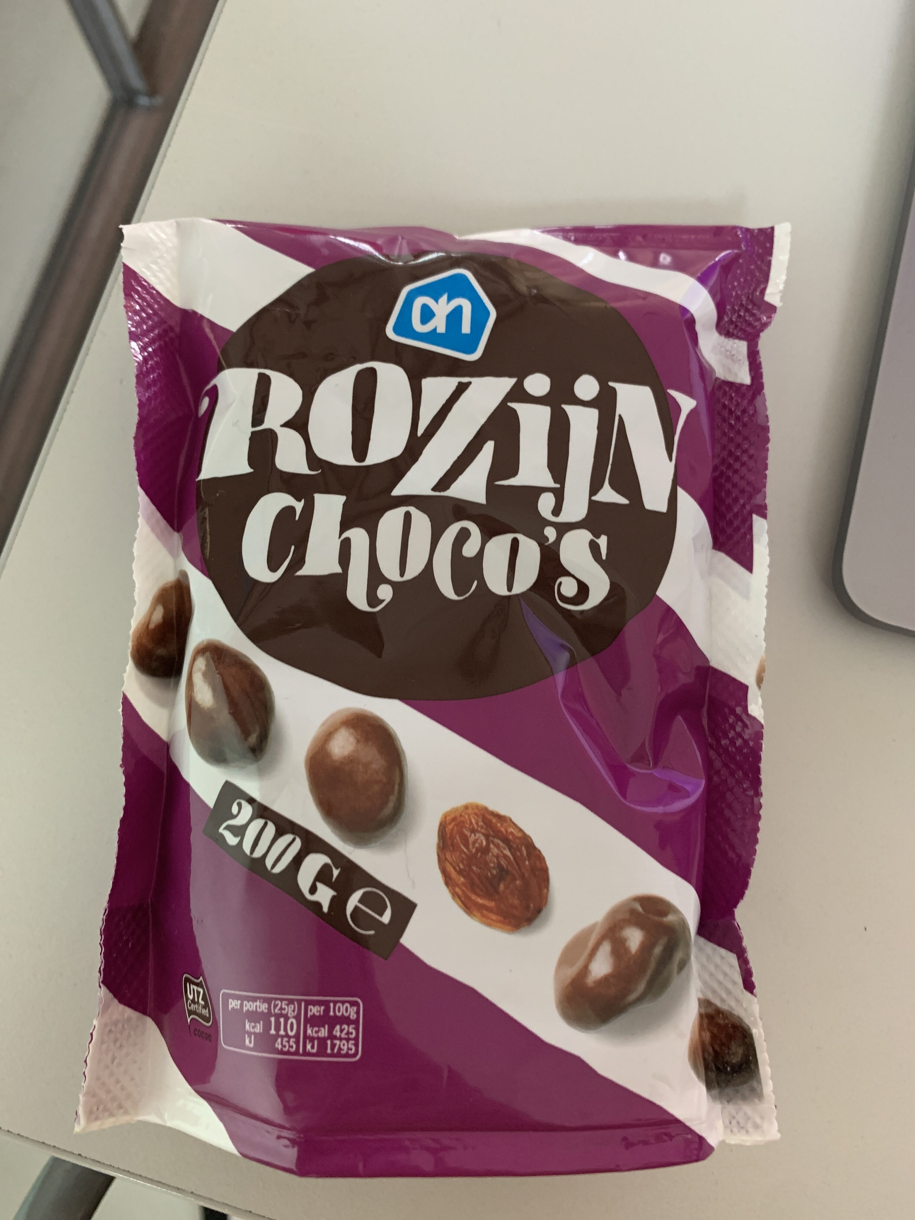 AH Rozijn Choco's - Product