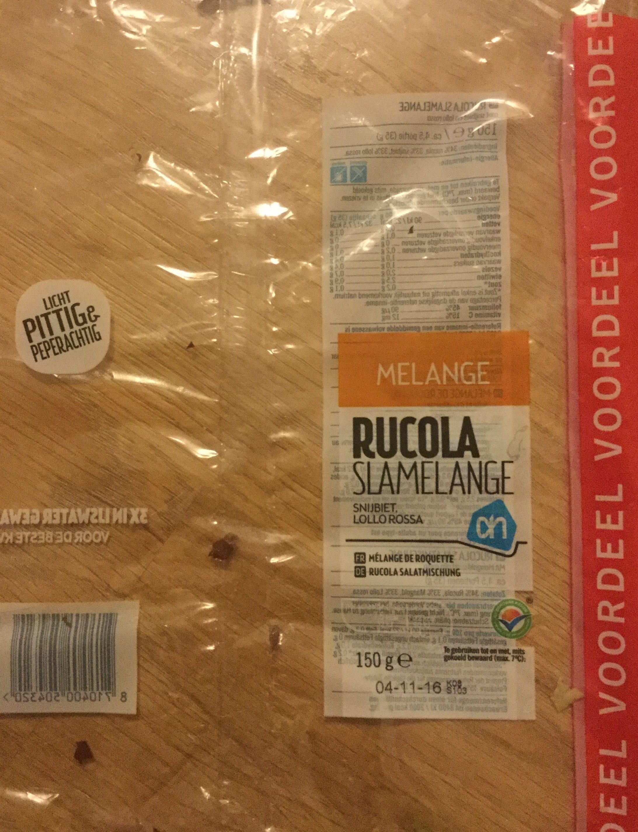 Rucola slamelange - Product
