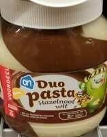 AH duo hazelnoot wit pasta - Produit - fr