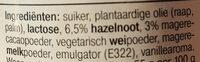 AH duo hazelnoot wit pasta - Ingrédients - nl