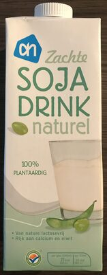 Soja drink naturel AH - Product - en