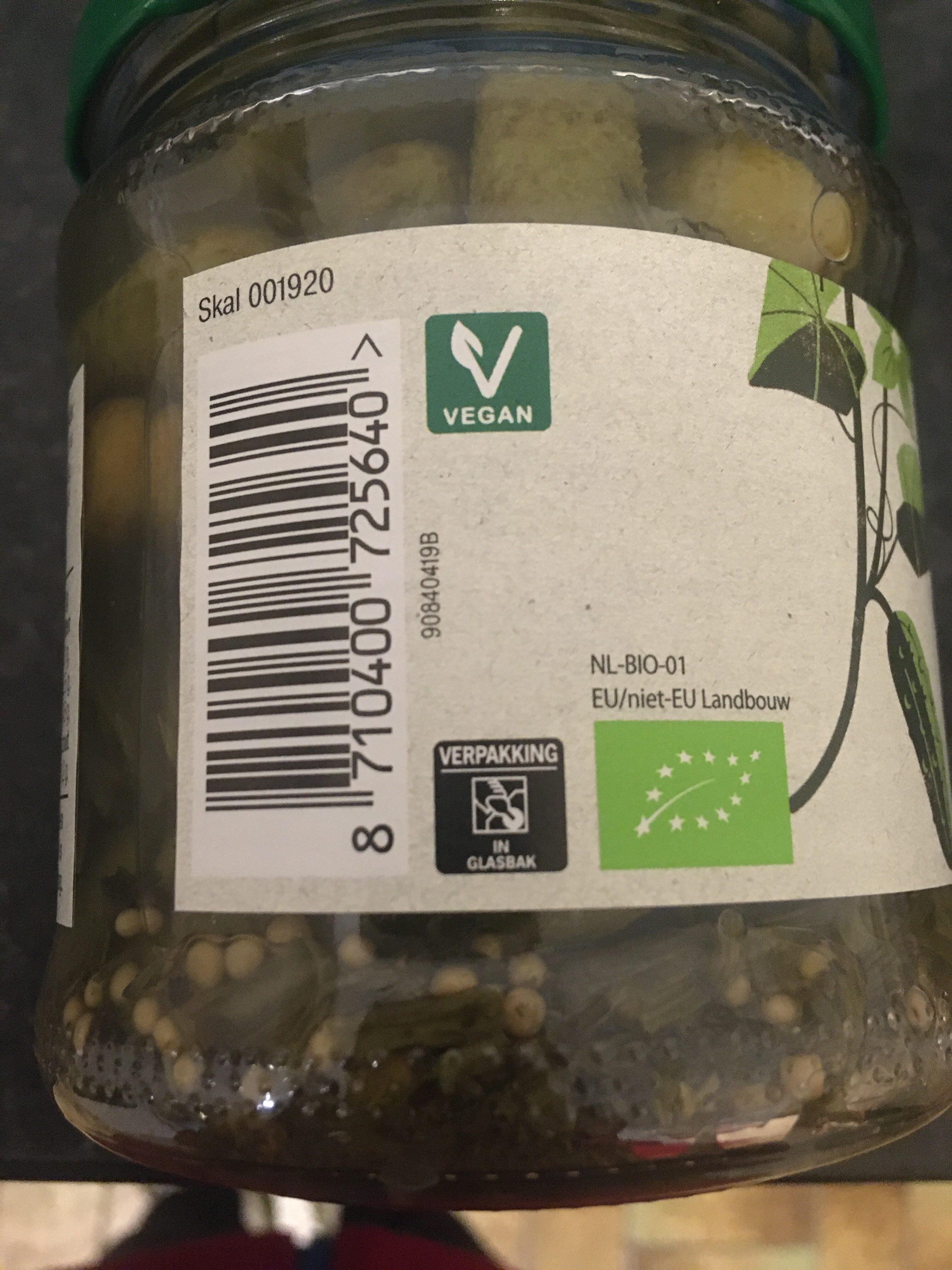 Augurken zoetzuur - Recycling instructions and/or packaging information - en
