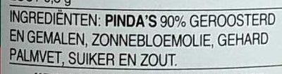 Pindakaas - Ingredients