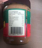 Smooth peanut butter - Informations nutritionnelles - en