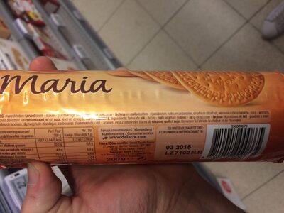 Delacre biscuits maria - Ingrédients - fr