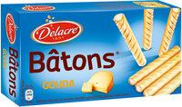 Delacre batons biscuits aperitifs fourres gouda l60g - Produit - fr