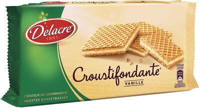 Delacre croustifondante gaufrette vanille - Prodotto - fr