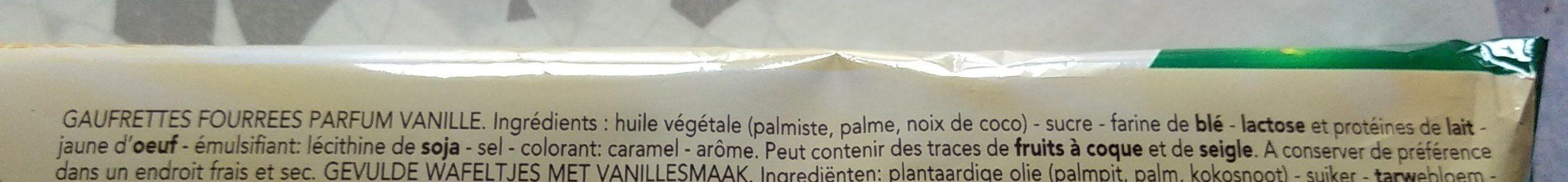 Croustrifondante Vanille - Ingrediënten