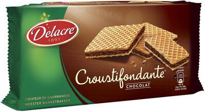 Delacre croustifondante gaufrette chocolat - Produit - fr