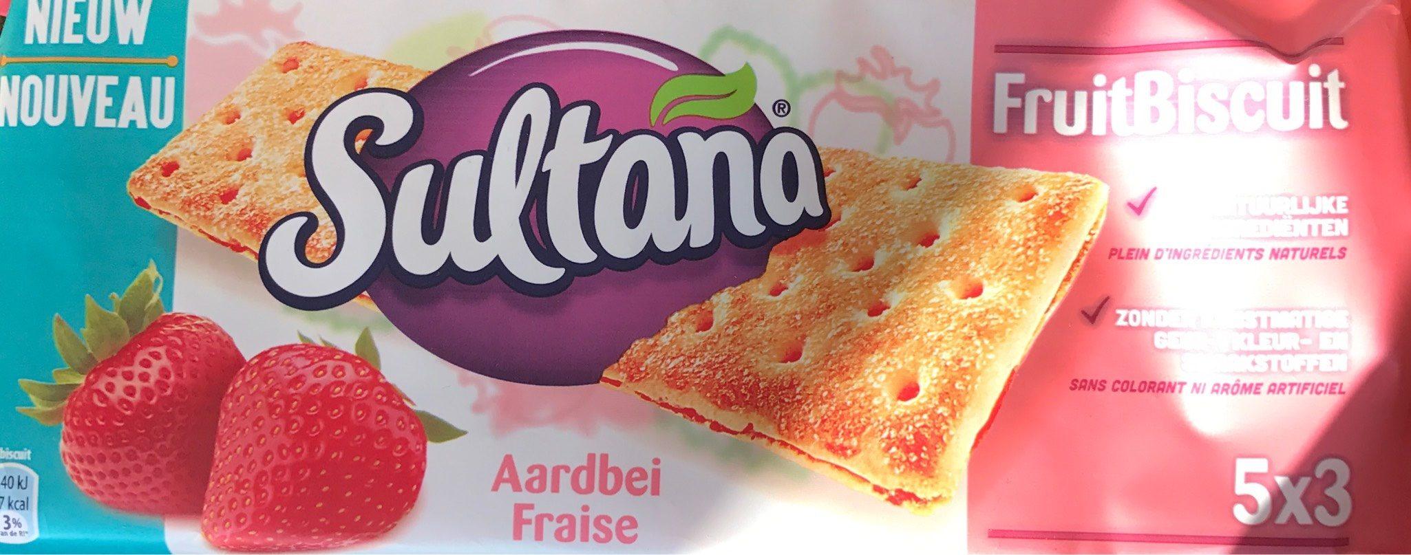 FruitBiscuit Fraise - Produit - fr