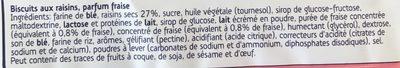FruitBiscuit Fraise - Ingrédients - fr