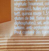 Spelt, Quinoa & Cranberry - Informations nutritionnelles - fr
