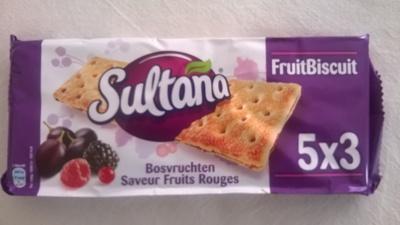 Biscuit aux raisins, parfum fruits rouges - Product