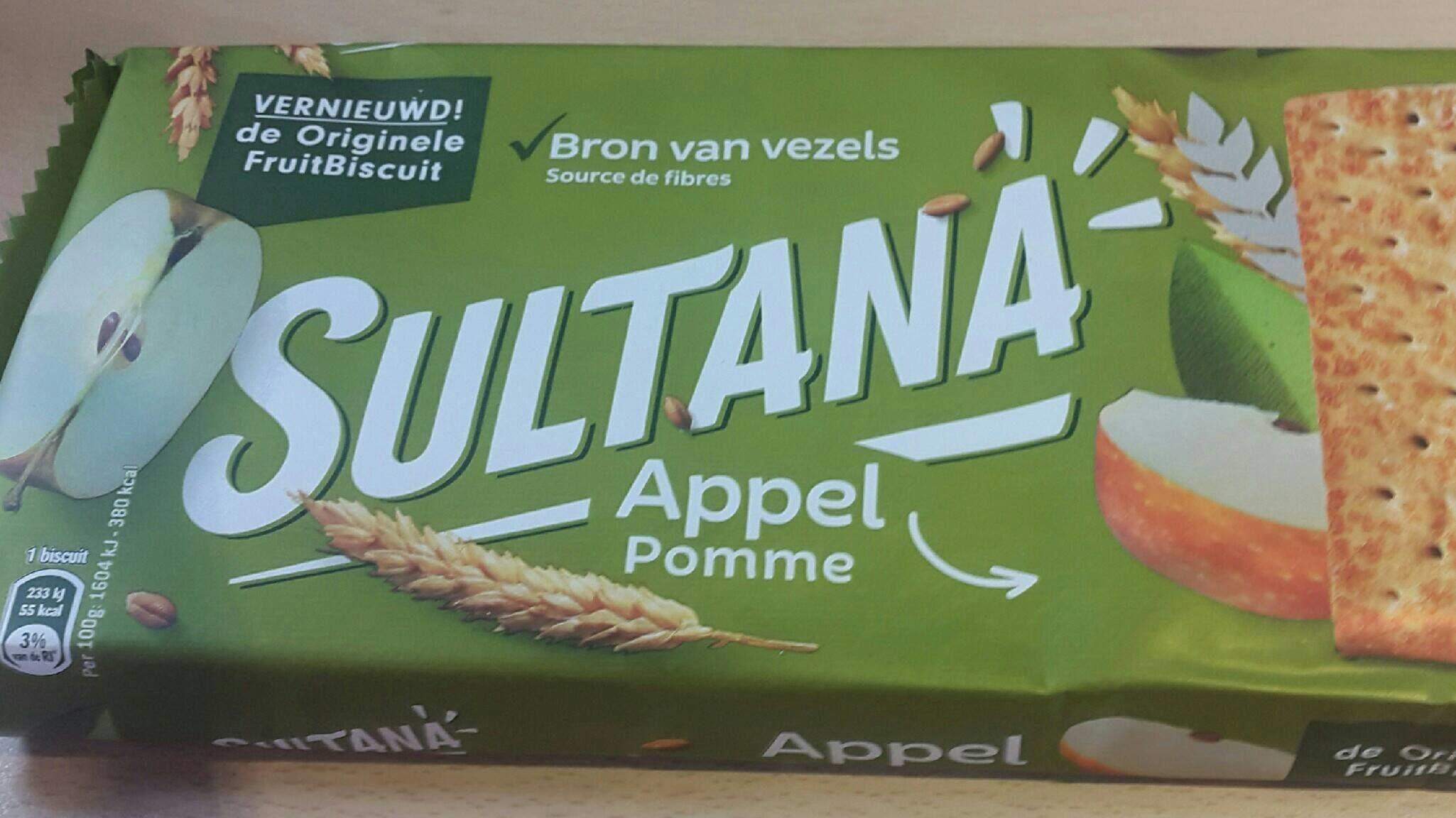 Sultana Pomme - Product - fr