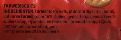 Digestive original - Ingredients