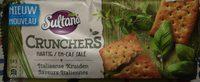 Sultana Crunchers Hartig Italiaanse Kruiden - Produit - fr