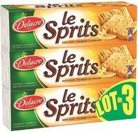 Delacre sprits original lot 3x250g ( - Produit - fr