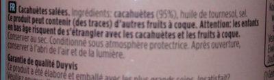 Peanuts Sel Tin 200G - Ingredients