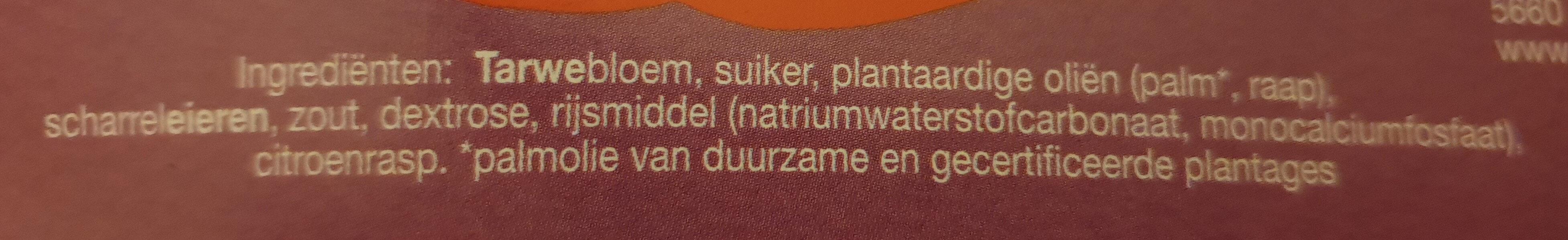 Jodekoek - Ingredients - nl