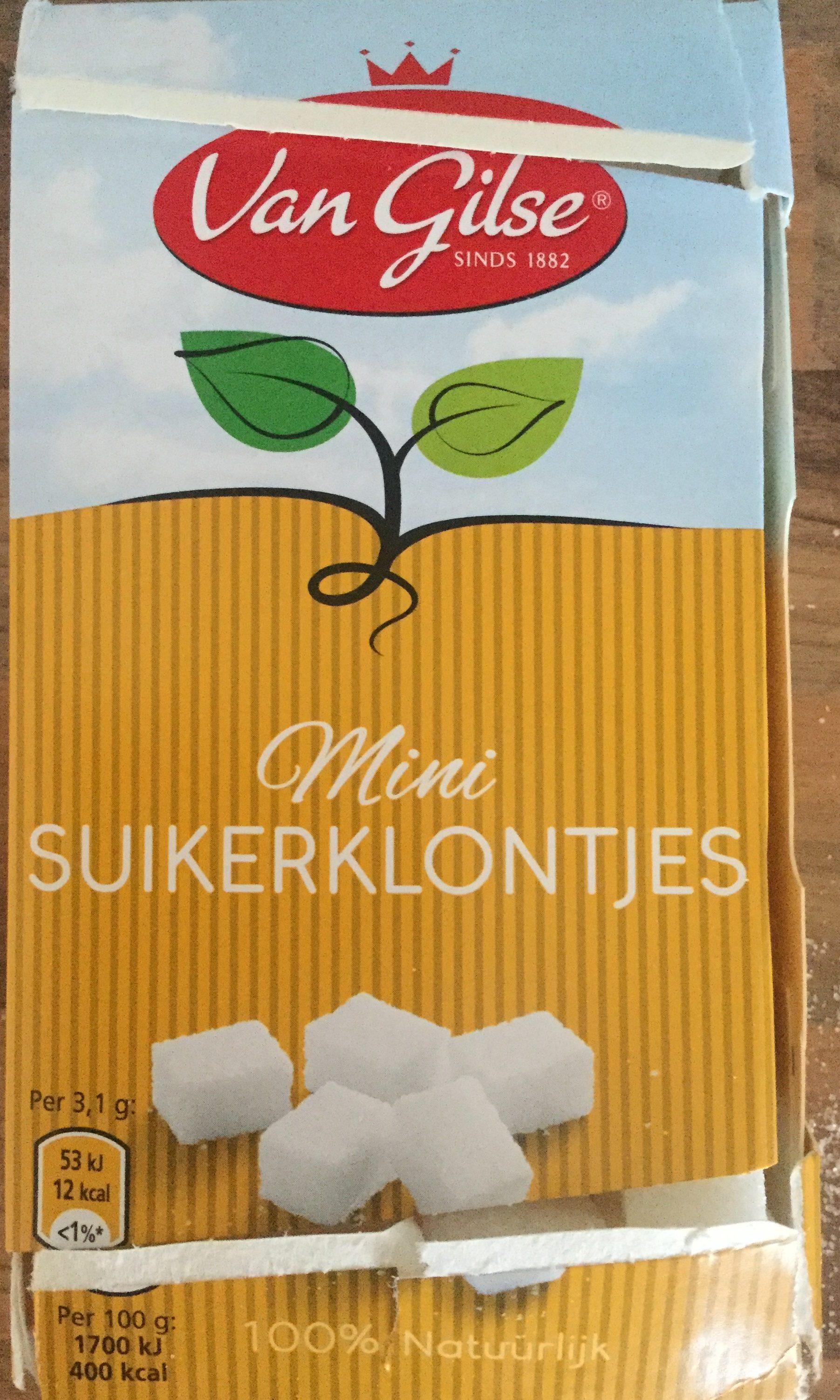 Mini Suikerklontjes - Product - nl