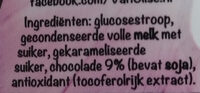 Schenkstroop schokolade - Ingrediënten - nl