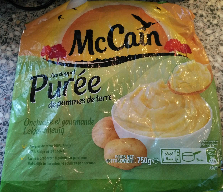 Purée de pommes de terre surgelée - Product - fr