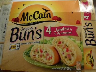 Original Bun's - Jambon 4 Fromages - Produit - fr