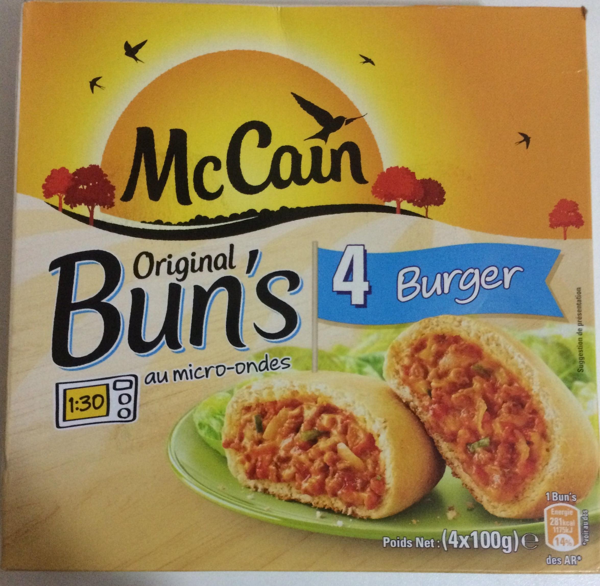 Original Bun's 4 Burger - Product - fr