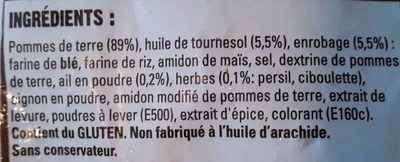 Country Potatoes aux herbes - Ingredients