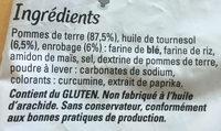 Just au Four Allumettes - Ingredients